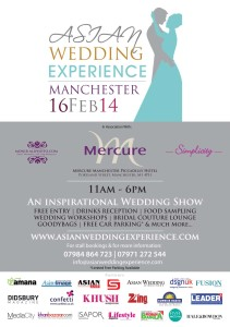 Asian Wedding Experience A5 Leaflet OCT 2013 GREY AND BRONZE